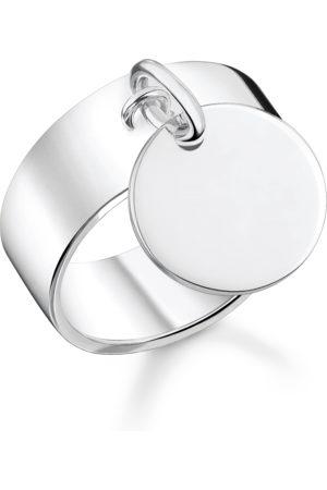 Thomas Sabo Kvinna Ringar - Ring med hängsmycke silver