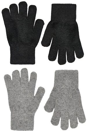 CeLaVi Handskar - Handskar - Ull/Nylon - 2-pack - /Gråmelerad