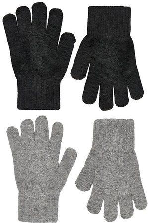 CeLaVi Handskar - Ull/Nylon - 2-pack - /Gråmelerad