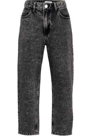 Lindex Barn Jeans - Trousers Denim Thea Acid Black Jeans Grå
