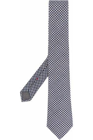 Brunello Cucinelli Hundtandsmönstrad slips