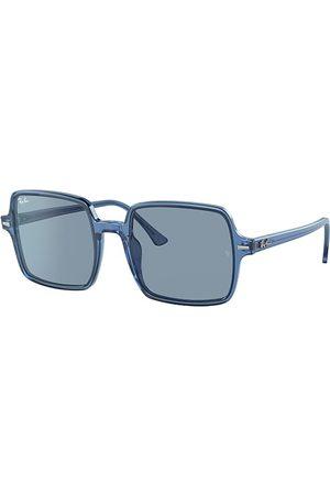 Ray-Ban Solglasögon - Square II True Blue , Lenses - RB1973