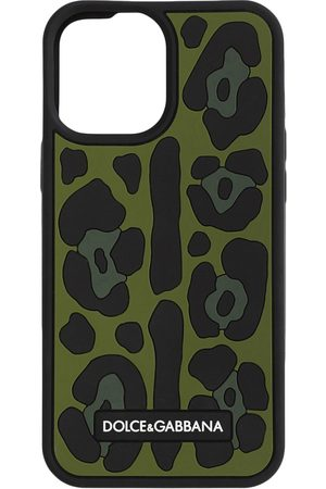 Dolce & Gabbana Man Mobilskal - Leopardmönstrat iPhone 12 Pro Max-skal