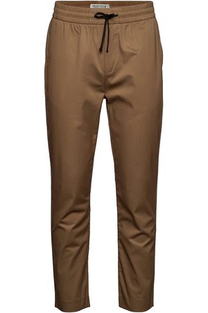 Scotch&Soda Man Chinos - Fave- Lightweight Chino In Jogger Styling In Organic Cotton Chinos Byxor Brun