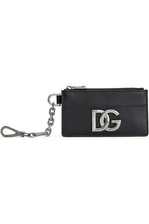 Dolce & Gabbana Man Nyckelringar - Korthållare med logotypplakett