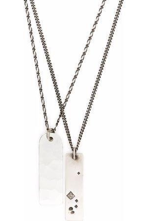 WERKSTATT:MÜNCHEN Halsband - Double dog tag necklace