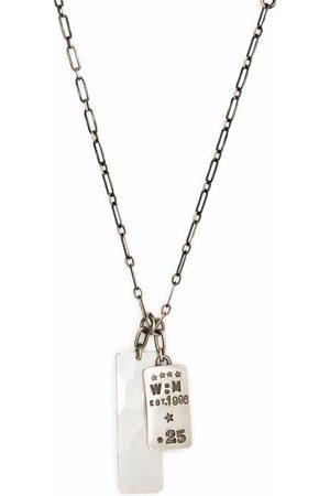 WERKSTATT:MÜNCHEN Halsband - Dog tag chain necklace
