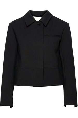 3.1 Phillip Lim P212-6183elv / Convertible Collar Valet Jacket Blazers Bouclé Blazers