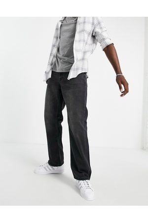 Topman – Bleksvarta, baggy jeans- /a