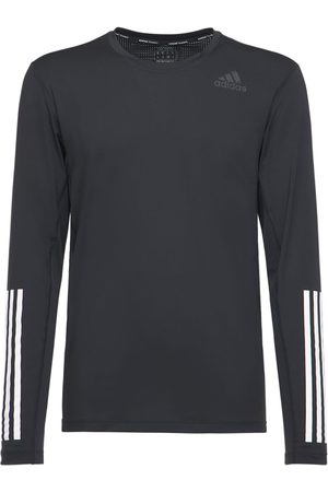 adidas Techfit Fitted Long Sleeve T-shirt