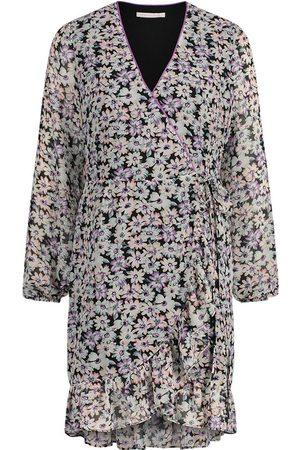Freebird Mini dress long sleeve Flower-Pes-01