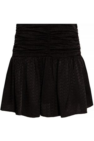 Zadig & Voltaire Silk skirt with logo