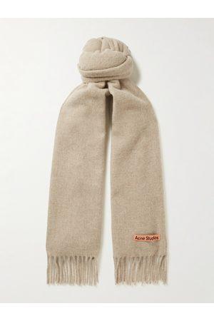 Acne Studios Man Sjalar - Canada Fringed Wool Scarf