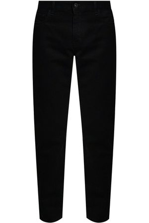 Off White Man Straight - Logo-printed jeans