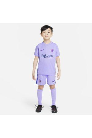 Nike Fotbollsställ FC Barcelona 2021/22 Away för barn
