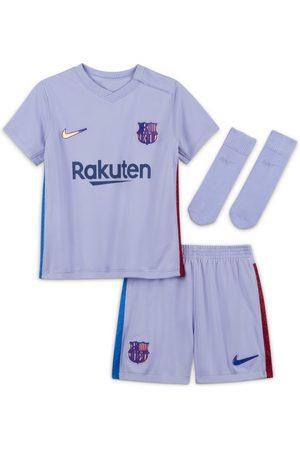 Nike Fotbollsställ FC Barcelona 2021/22 Away för baby/små barn