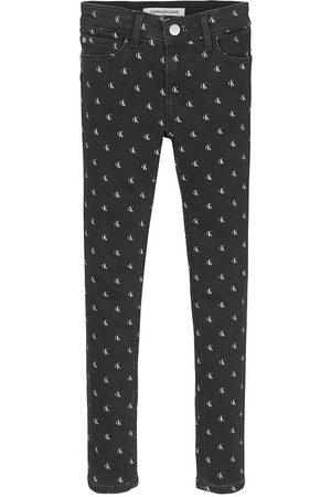 Calvin Klein Flicka Stretchbyxor - Jeans - Skinny MR - Mini Monogram Stretch