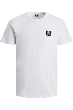 JACK & JONES Man T-shirts - Space Jam-tryck T-shirt Man White