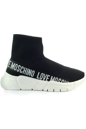 Love Moschino Sock Style Sneakers With Logo