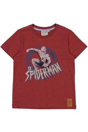 Disney Wheat Marvel T-shirt - Spider Man - Warm Brick