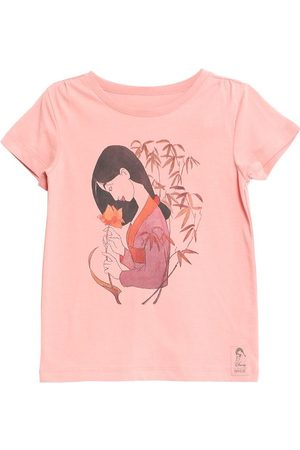 Wheat Disney Flicka T-shirts - T-shirt - Mulan - Misty Rose