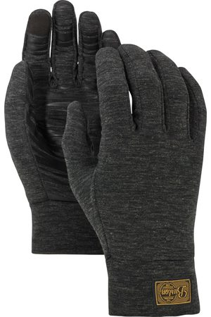 Burton Man Handskar - Drirelease® yllehandske för män, True Black Heather