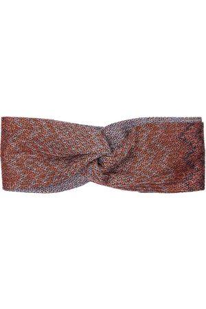 Missoni Viscose Knit Headband W/ Front Knot