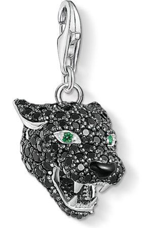 Thomas Sabo Halsband - Charm-hängsmycke Black Cat