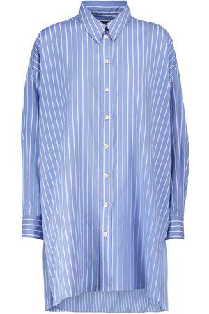 Isabel Marant Kvinna Casual skjortor - Sacali striped oversized silk shirt