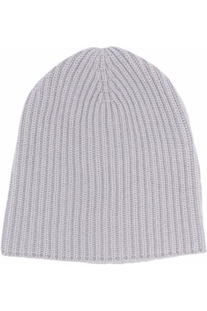 Fedeli Ribbed knit cashmere beanie