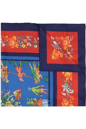 Hermès Sjalar - Pre-owned Les Jardiniers du Roy sjal från 1990-talet