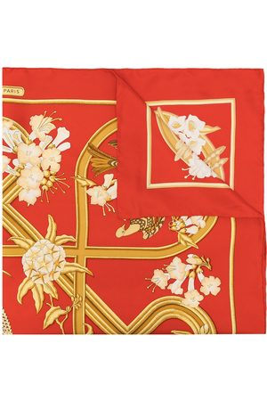 Hermès Pre-owned Caraibes sidensjal från 1990-talet