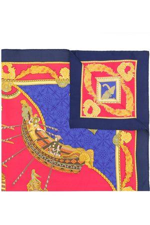 Hermès Pre-owned Les Bissone de Venise sjal från 1990-talet