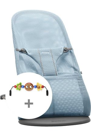 BABYBJÖRN Babybjörn Babysitter Bliss Mesh + Leksak Paketpris