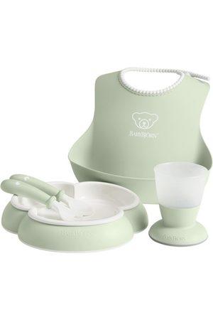 BABYBJÖRN Middagsset för barn Blekgrön
