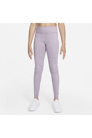 Nike Flicka Träningstights - Leggings Dri-FIT One Luxe med hög midja för ungdom (tjejer)