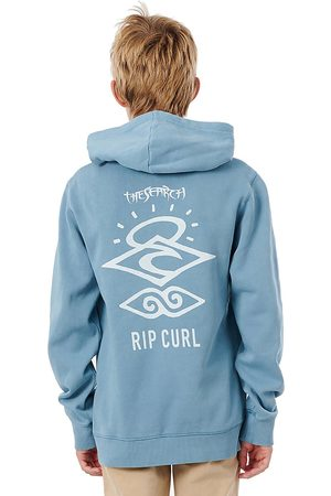 Rip Curl Search Icon Hoodie mid blue