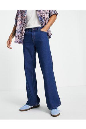 Topman – Ljusblå flared jeans