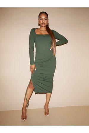 Envii Enzoe Ls Square Dress 5344 Fodralklänningar