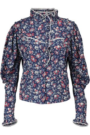 Isabel Marant Darya floral cotton blouse