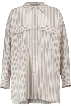 Isabel Marant Ajady striped cotton shirt