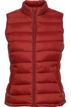 Vila Viminsk Short Quilted Waistcoat/Pb Vests Padded Vests