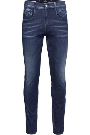 Replay Man Slim - Anbass Trousers White Shades Skinny Jeans