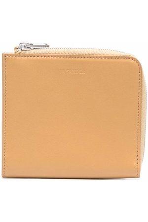 Jil Sander Logo-embossed leather wallet
