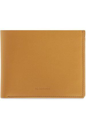 Jil Sander Leather Zip Pocket Wallet