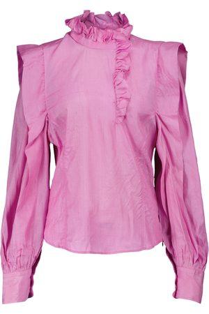 Isabel Marant Chandra silk blouse