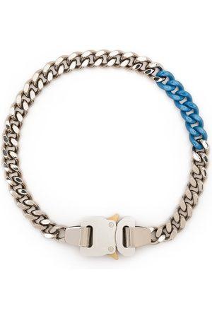 1017 ALYX 9SM Man Halsband - Tvåfärgat kedjehalsband med spänne