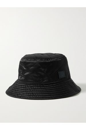 Acne Studios Man Hattar - Logo-Appliquéd Quilted Shell Bucket Hat