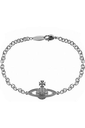 Vivienne Westwood Mini Relief Chain Bracelet Silve
