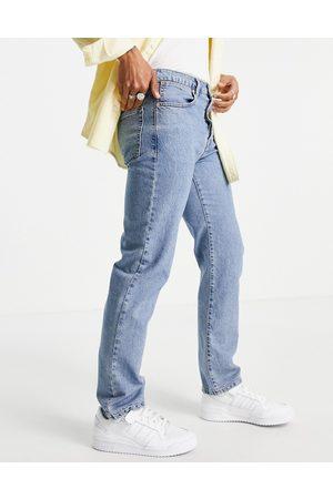 Topman – Mellanblå raka jeans